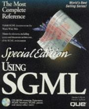 Cover of: Using SGML