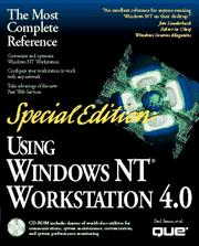 Cover of: Special edition Using Windows NT Workstation 4.0