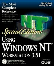 Cover of: Using Windows NT Workstation 3.51