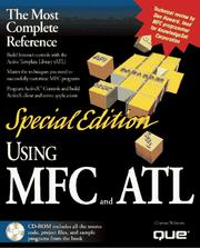 Cover of: Using MFC and ATL