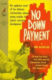 Cover of: No Down Payment | John McPartland