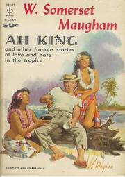 Cover of: Ah King: six stories