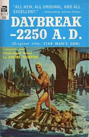 Cover of: Daybreak -- 2250 A.D. | Andre Norton