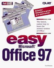 Cover of: Easy Microsoft Office 97