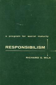 Cover of: Responsibilism