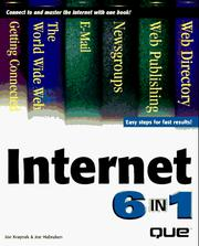 Cover of: Internet 6 in 1