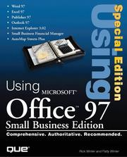 Cover of: Using Microsoft Office 97, small business edition