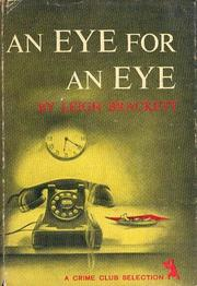 Cover of: An Eye for an Eye: A Novel of Nightmare Revenge