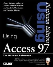 Cover of: Using Access 97 Premium Edition Book & CD-ROM