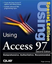 Cover of: Special Edition Using Access 97