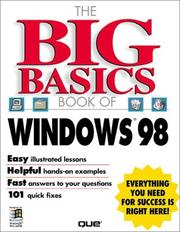 Cover of: The big basics book of Windows 98