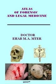 Cover of: Atlas of legal medicine