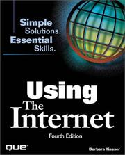 Cover of: Using the Internet