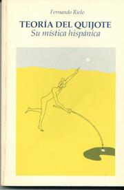 Cover of: Teoría del Quijote