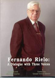 Cover of: Fernando Rielo: A Dialogue with Three Voices