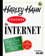 Cover of: Harley Hahn teaches the Internet | Harley Hahn