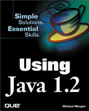 Using Java 1.2 by Morgan, Michael