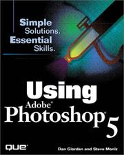 Cover of: Using Adobe Photoshop 5
