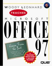 Cover of: Woody Leonhard teaches Microsoft Office 97