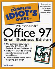Cover of: The complete idiot's guide to Microsoft Office 97