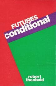 Cover of: Futures Conditional |