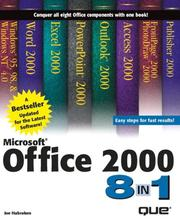 Cover of: Microsoft Office 2000 8 in 1