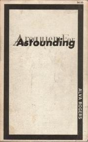 Cover of: A Requiem for Astounding by Alva Rogers