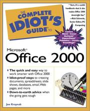 Cover of: Complete idiot's guide to Microsoft Office 2000