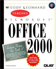 Cover of: Woody Leonhard teaches Microsoft Office 2000