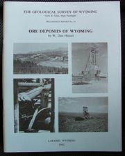 Cover of: Ore deposits of Wyoming