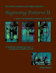 Cover of: Beginning Patterns II