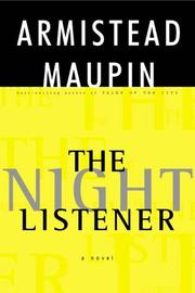 Cover of: The night listener