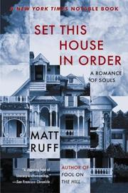 Cover of: Set This House in Order