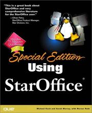 Cover of: Special Edition Using StarOffice | Sarah Murray