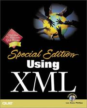 Cover of: Using XML | Lee Anne Phillips