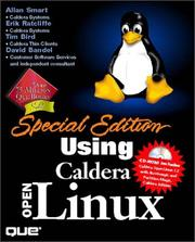 Cover of: Special Edition Using Caldera OpenLinux | Erik Ratcliffe
