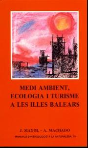 Cover of: Medi ambient, ecología i turisme a les illes Balears