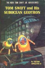 Cover of: Tom Swift and his Subocean Geotron