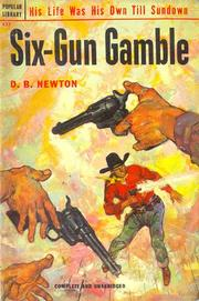 Cover of: Six-Gun Gamble