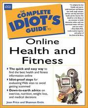 Cover of: The Complete Idiot's Guide to Online Health & Fitness