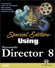 Cover of: Using Macromedia Director 8 (with CD-ROM) | Gary Rosenzweig