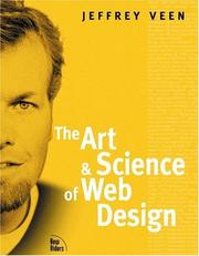 Cover of: The art & science of Web design