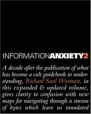 Cover of: Information anxiety 2 by Richard Saul Wurman