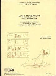 Cover of: Dairy husbandry in Tanzania | Catherine Laurent
