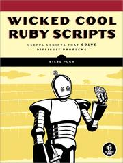 Cover of: Wicked cool Ruby scripts