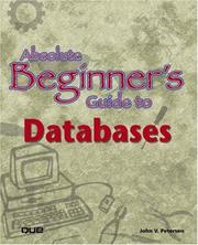Cover of: Absolute Beginner's Guide to Databases