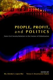 Cover of: People, profit, and politics |