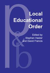 Cover of: Local Educational Order | Stephen Hester