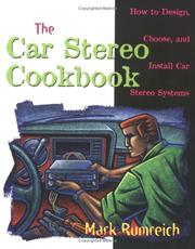 Cover of: Car stereo cookbook