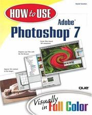 Cover of: How to Use Adobe Photoshop 7 (How To Use)